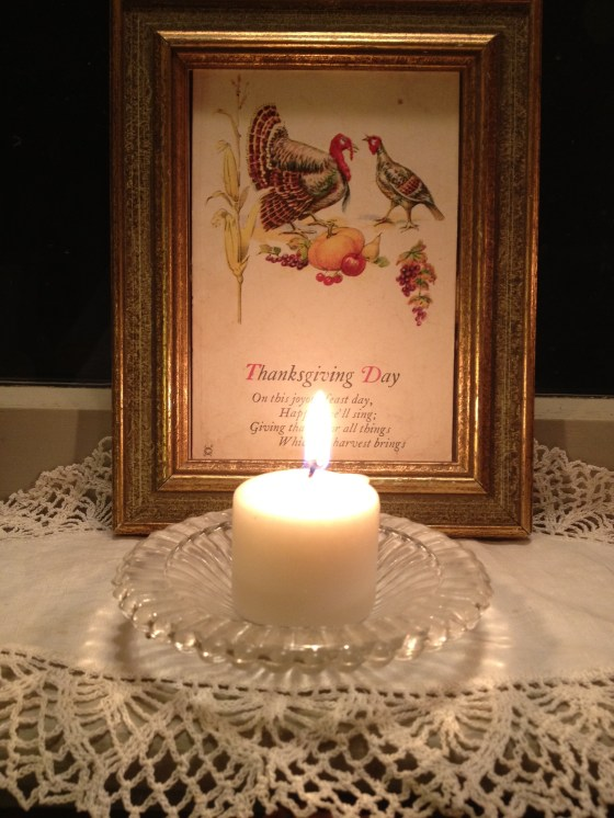 thanksgiving candle
