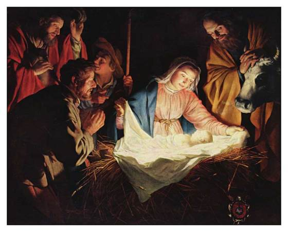 Adoration of the Shepherds - Gerrit-van-Honthorst, 1590