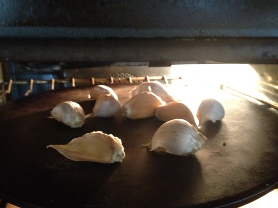 Baking garlic on 300 degrees