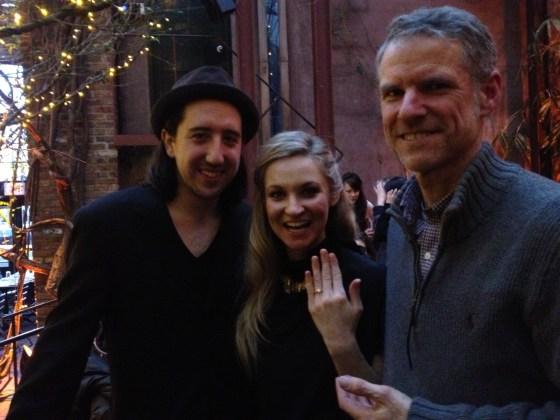 Alex(prince), Jennifer(princess) and Dale (humble servant of the King)