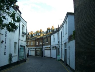 Mews in London