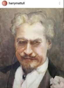 one of Harry's portraits.