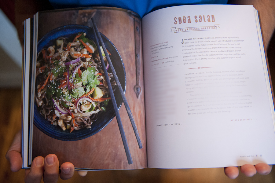 The Canadian Craft Beer Cookbook by David Ort. Cookbook photography by Robin Sharp. Food styling by Rossy Earle.