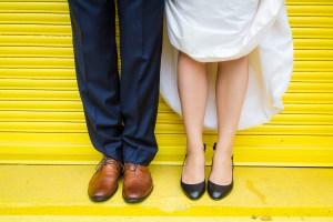 Toronto Wedding Queen Street Burroughes City Bright Colours