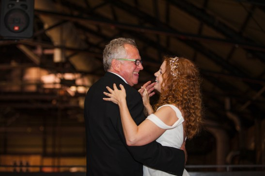 Father Daughter Dance Details - Comfortable Shoes - Running Shoes - Nike - Fall Wedding - Reception - Horah - Jewish Wedding - Offbeat Bride - St.Lawrence Market Wedding - Toronto Wedding Photographer