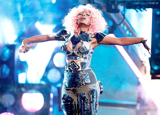 nicki minaj american movie awards