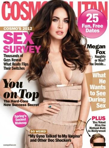 megan fox cosmo magazine
