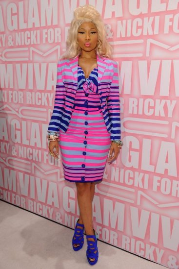 Nanette Lepore nicki minaj spring 2012 dress