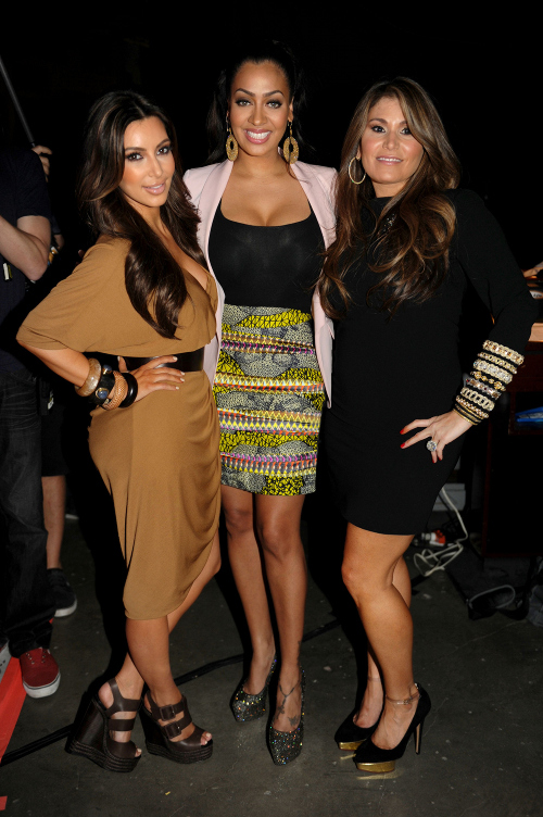 kim kardashain brown dress and pierre wedges