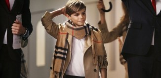 david beckham's son burberry