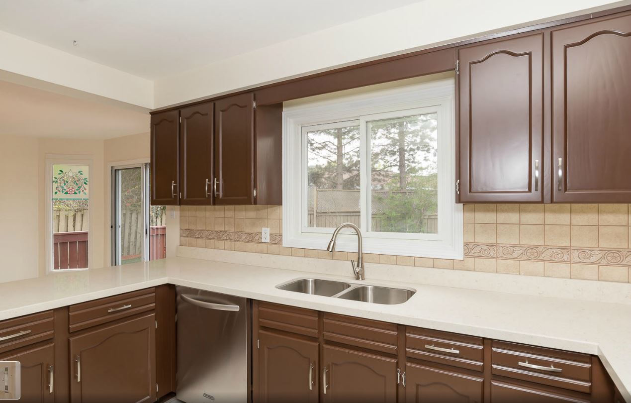 sharrardpainting spray painting kitchen cabinets Painted Kitchen Cabinets
