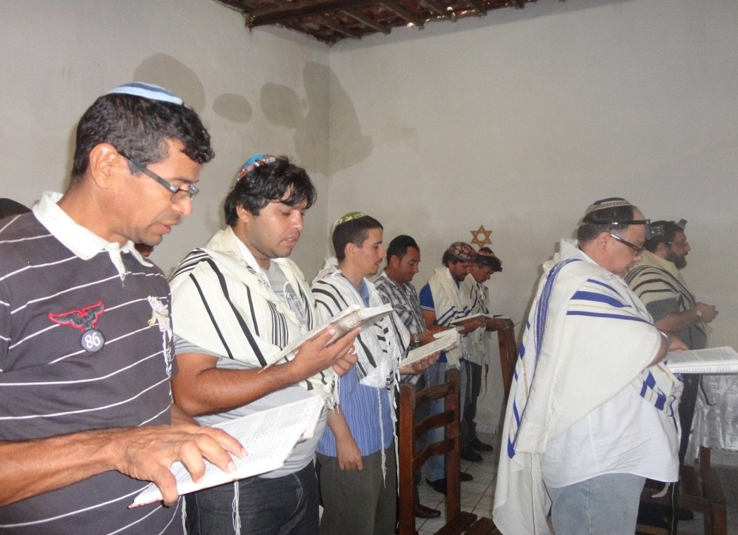 Bnei Anousim prayer in Brazil