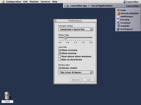 LaunchBar version 2