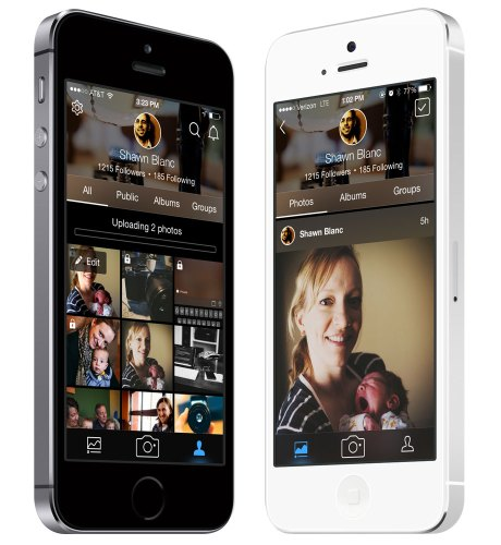 Flickr for iPhone version 3