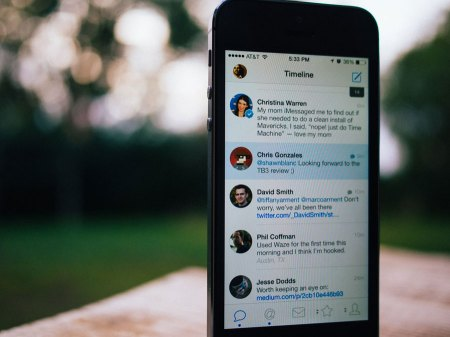 Tweetbot 3 for iOS 7 - the main timeline view
