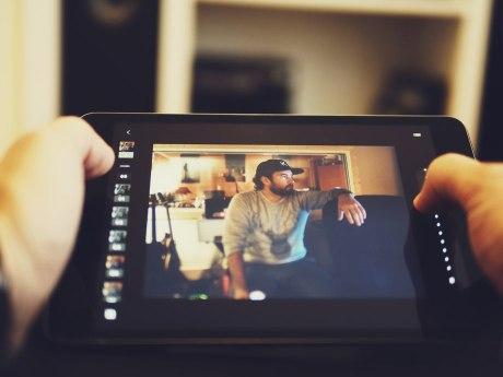 VSCO Cam on the iPad