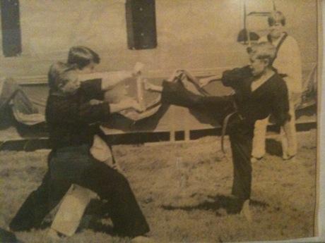 Shawn Blanc Karate Kick, Circa 1995