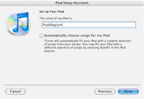 iPod Shuffle - Puddleglum