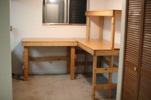 Finished workbench