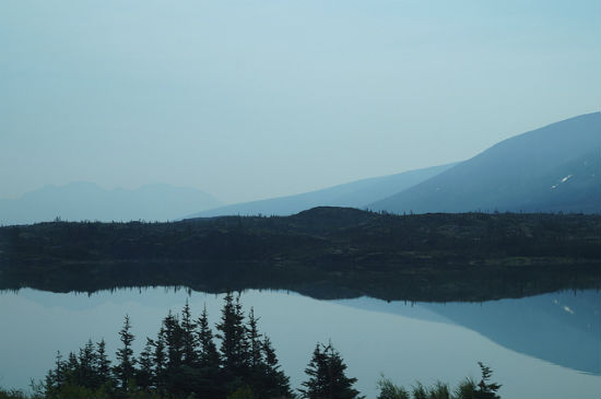BPO 2013 A Hazy Yukon with a Still Lake