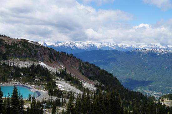 BPO 2013 Whistler Mountain during the Summer