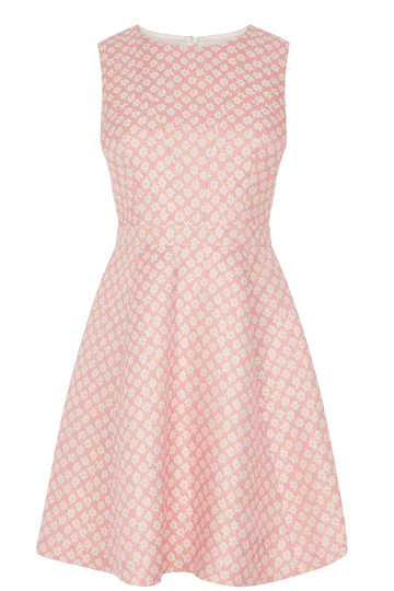 Daisy Jacquard Skater Dress £68 from Oasis