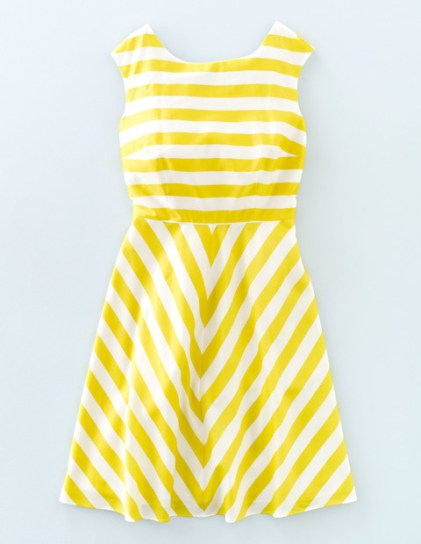 Double Thumbs Dresses #86 | Swishy Mara Dress £26.85 (reduced from £89.50) from Boden. This dress is also available in black and white!