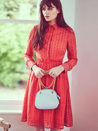 Double Thumbs Dresses #86 | Lilah Embroidered Midi Shirt Dress £43 (Reduced from £85) from Yumi