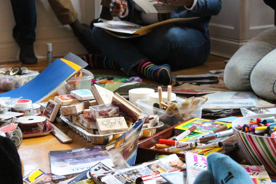 NYC Nomadness Vision Board Workshop