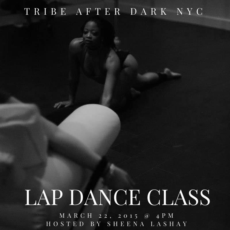 NYC Tribe Lap Dance Class