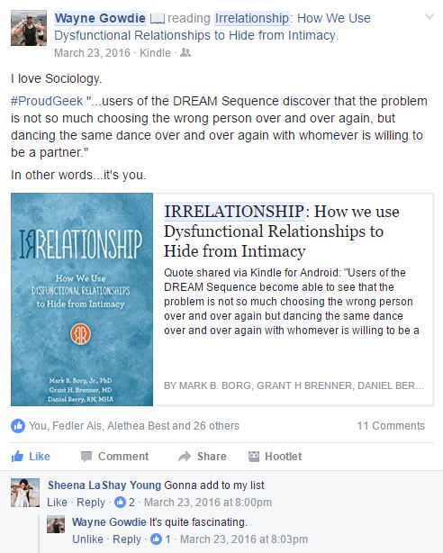 Irrelationship – Sirens and Wolves Book Club
