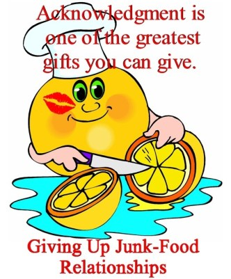 """Giving Up Junk Food Relationships"""