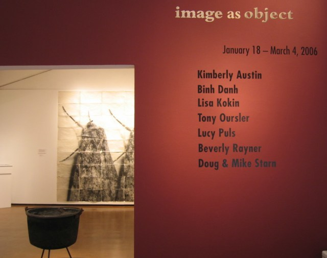 Image as Object