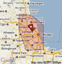 SH Chicago Electrician Service Area
