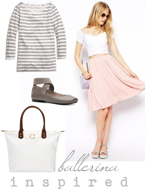 Ballerina Inspired Outfit