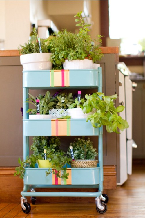 Portable Planter Cart