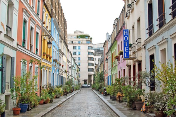 Colorful Street Paris; Rue Cremieux