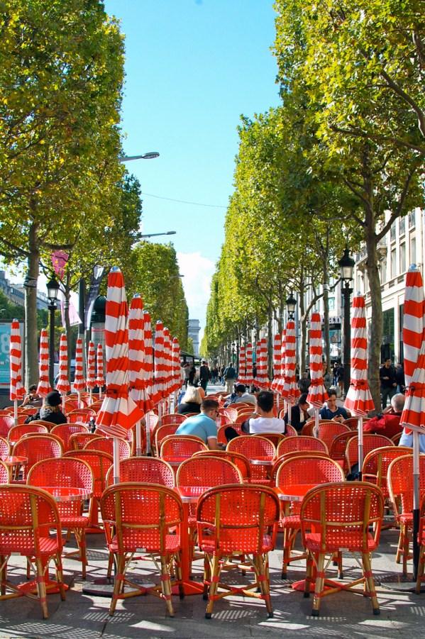 Outdoor Restaurants Champs Elysees