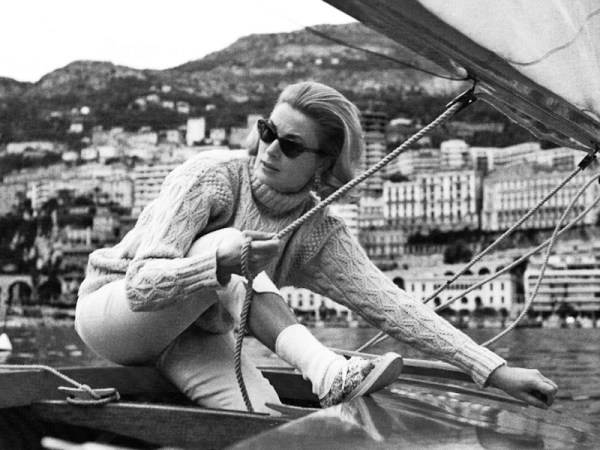 Grace Kelly Fisherman Sweater