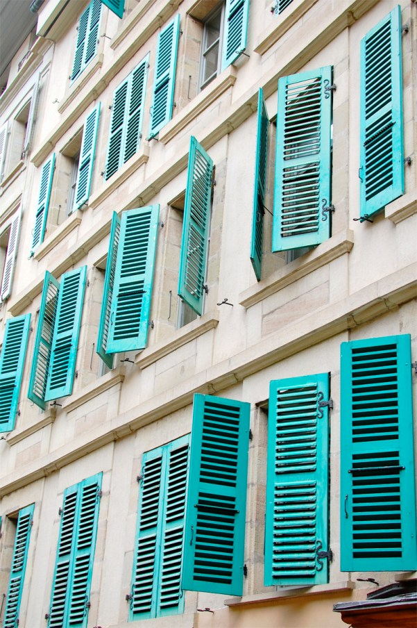 Turquoise Shutters