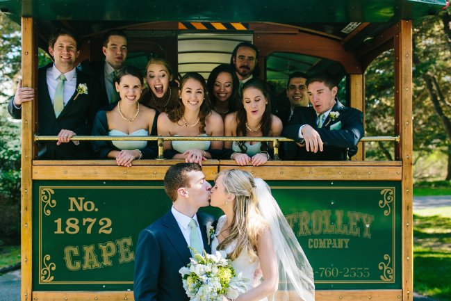 Cape Destinations Wedding Trolley