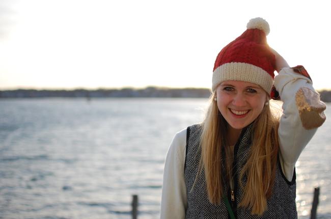 Santa Knit Beanie