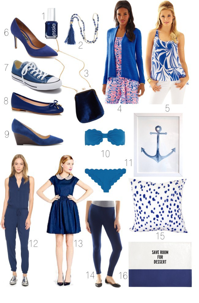 Light Navy Snorkel Blue Dress