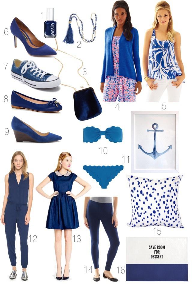 Light Navy Snorkel Blue Dress