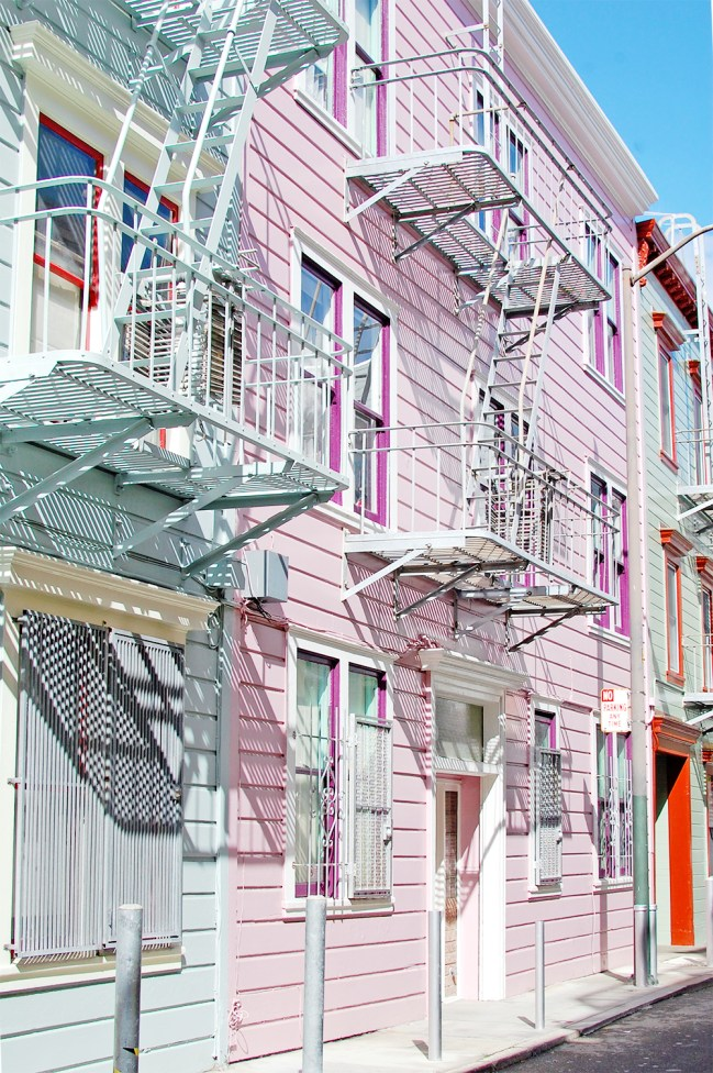 pastel houses san francisco