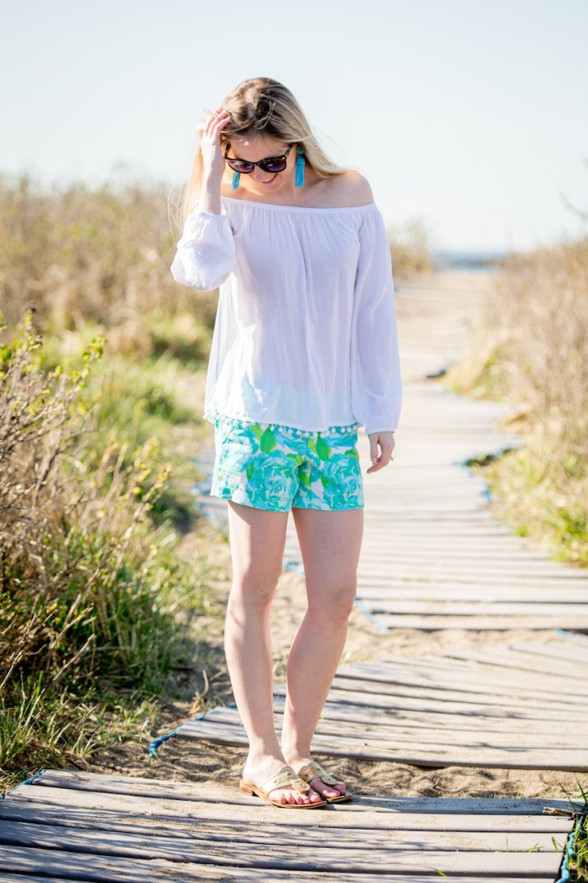 Lilly Pulitzer Tassel Top