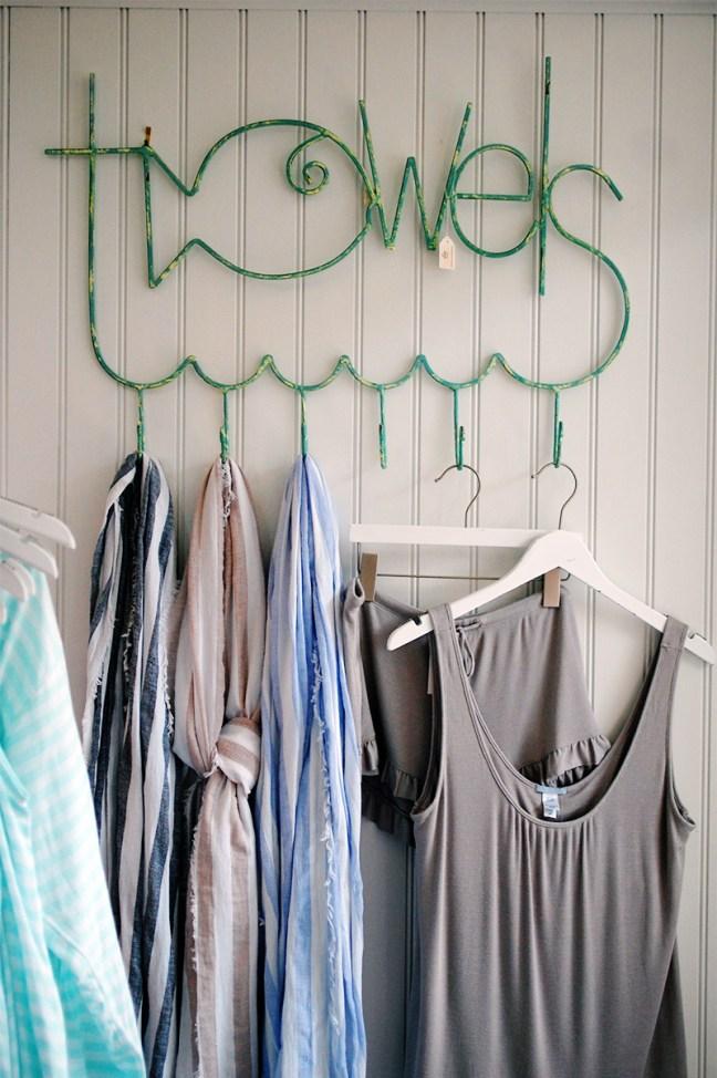rustics towel hooks