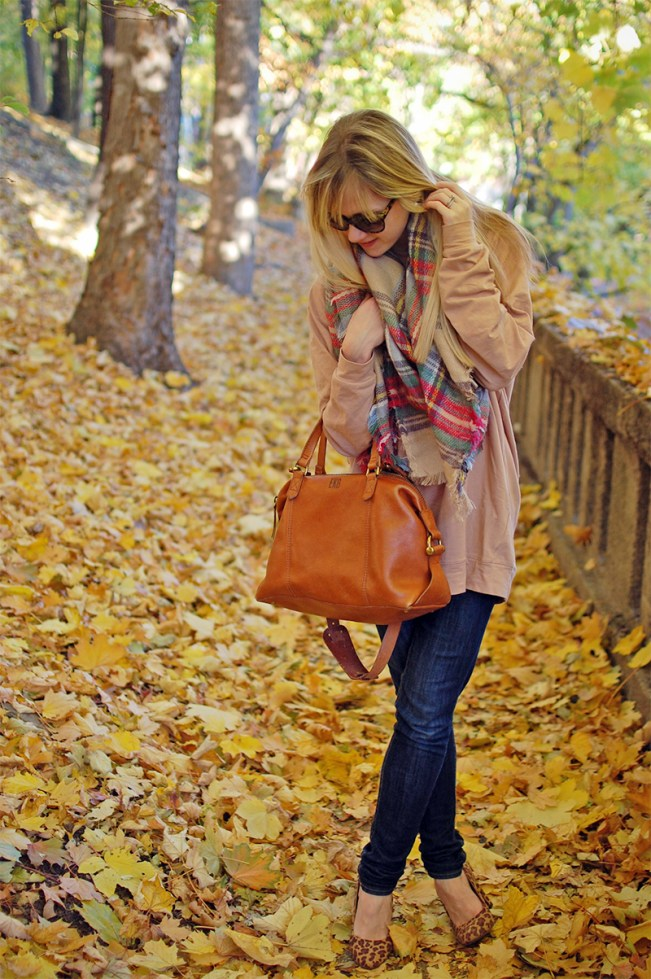 boston blogger fall fashion; fashion blogger blanket scarf