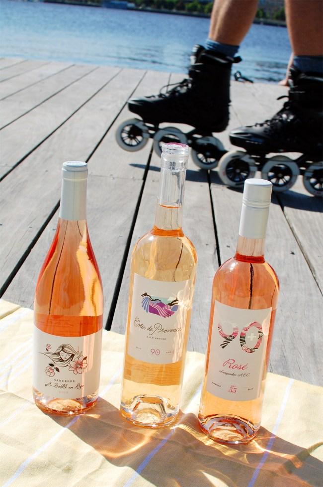 90+ cellars rosé summer wine club