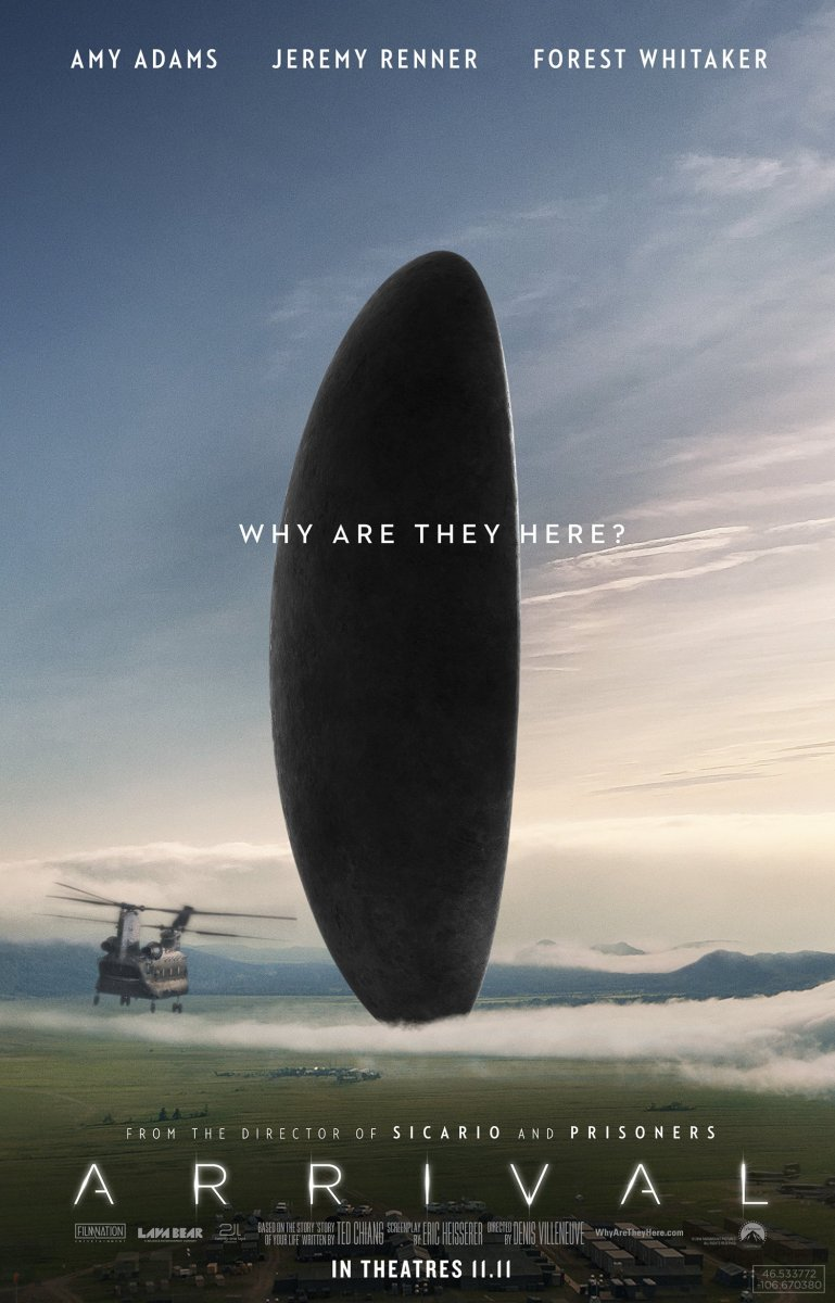 Arrival - Quotes